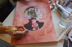 Workshop des Kulturvereins Probstei: Kunst trifft Schule