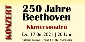 Schönberger Musiktage: Klaviersonaten mit Hartmut Leistritz