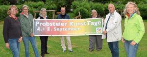 Bericht aus den KN: Probsteier KunstTage erleben zweite Auflage
